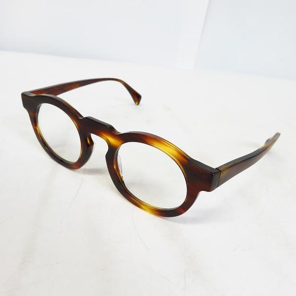 Jacques Durand/ジャックデュラン 丸メガネ/眼鏡フレーム デミ柄 PAQUES L 506-013