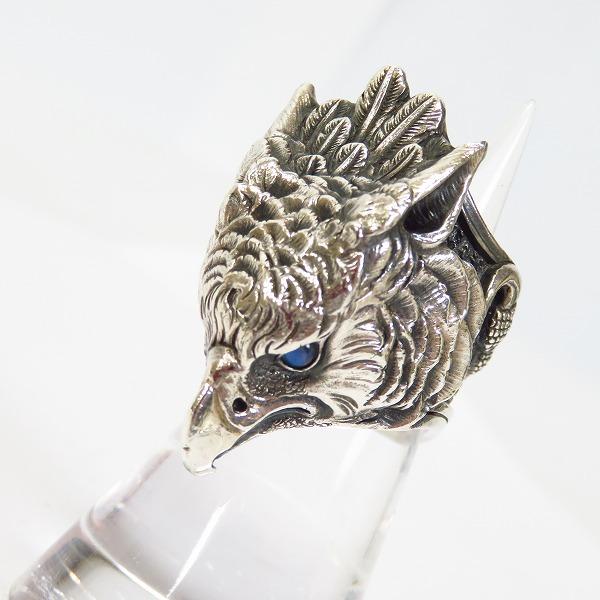 LegioMade/レギオメイド Griffin ring/Guardia cover グリフィンリング/ガルディア カバー/ストーンアイ 10号