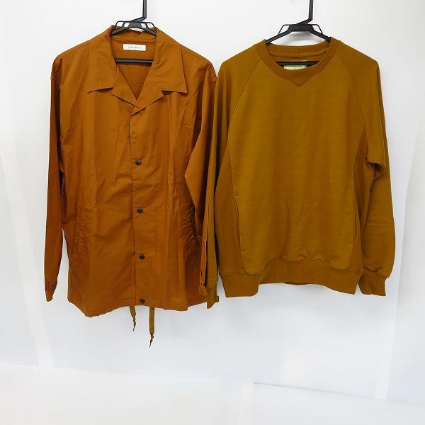 CIAOPANIC/チャオパニック HIBECK/ハイベック スナップボタンシャツジャケット/ポケット付スウェット 2点セット