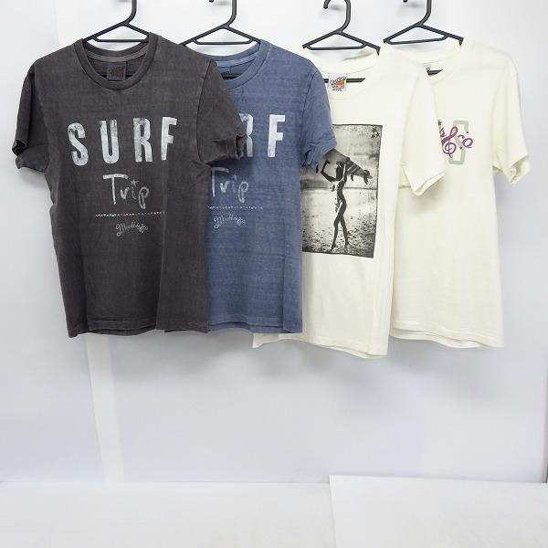 実際に弊社で買取させて頂いたMARBLES/マーブルズ Tシャツ カットソー 半袖/S/M 4点セット