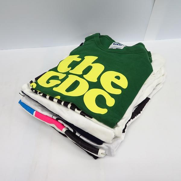 GDC/ジーディーシー STUSSY/ステューシー 半袖/長袖 Tシャツ/M/L/XL 8点セット