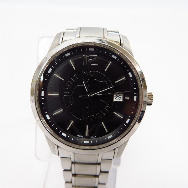 HUNTING WORLD/ハンティングワールド クォーツ 腕時計 HW-912【動作未確認】