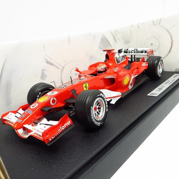 HOT WHEELS/ホットウィール 248 F1 Michael Schumacher/ミハエル・シューマッハ フェラーリ マルボロ 1/18
