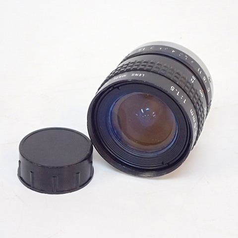 【動作未確認】COSMICAR/コズミカ TELEVISION LENS 8.5mm 1:1.5 テレビションレンズ 単焦点レンズ シネカメラ