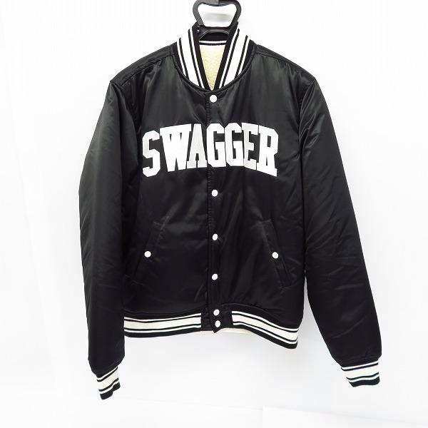 実際に弊社で買取させて頂いたSWAGGER/スワッガー リバーシブル スタジャン 内ボア 日本製/XL