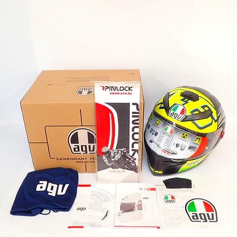【美品】AGV/エージーブイ K-3 SV WINTER TEST 2012 バイク用 フルフェイス ヘルメット XLサイズ