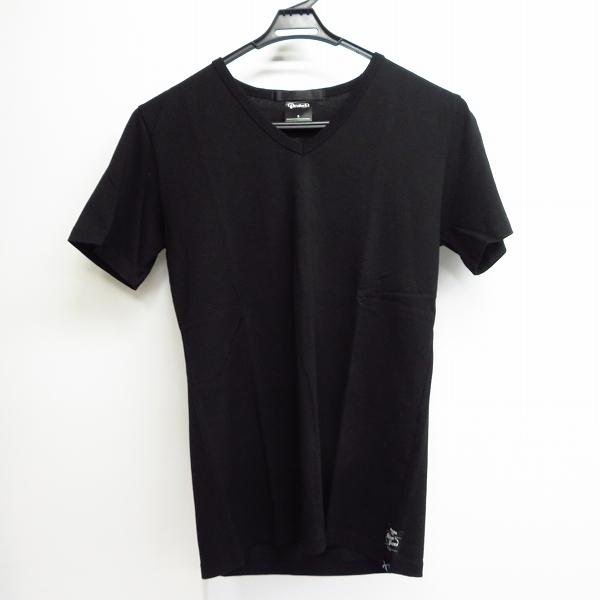 実際に弊社で買取させて頂いたroar×Devilock/ロアー×デビロック コラボ スワロ/メタル Tシャツ S