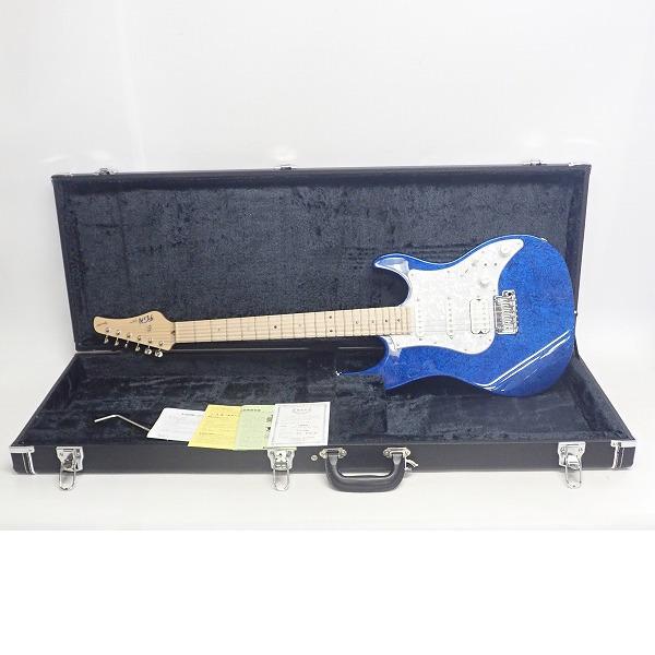 ★【美品】FUJIGEN/フジゲン エレキギター EOS-ASH-M-SP1/FRB ハードケース付き