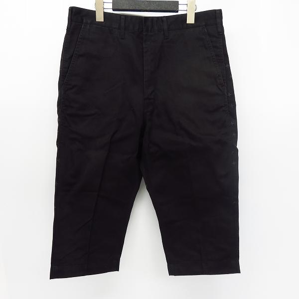 Dickies×Coal Black/ディッキーズ×コールブラック デザイン切り返し クロップドパンツ Size:M