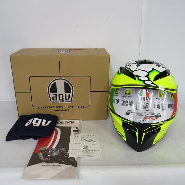 【未使用】AGV/エージーブイ K-3 SV JIST TOP MISANO 2011 XL サイズ フルフェイスヘルメット