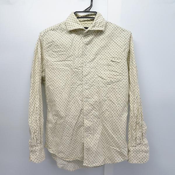 CUSTOM CULTURE/カスタムカルチャー 日本製 ドット柄 コットンシャツ 3