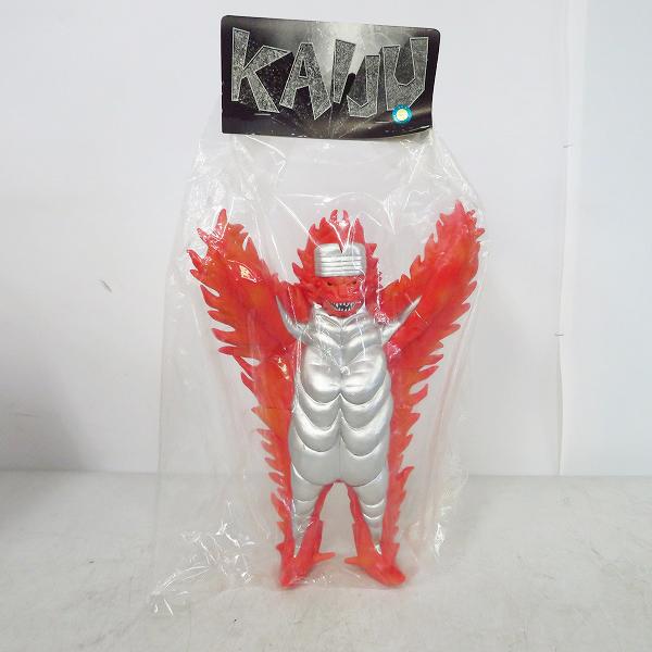実際に弊社で買取させて頂いた【未開封】Marmit/マーミット KAIJU/怪獣 ミラーマン キティファイヤー ソフビ/フィギュア