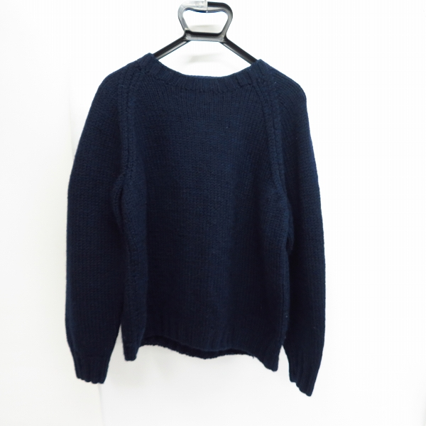 実際に弊社で買取させて頂いたINVERALLAN/インバーアラン ウール クルーネックセーター