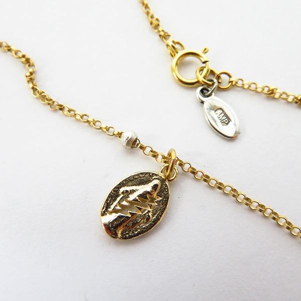 amp japan/アンプジャパン 19SS K10 Gold Dead Lightning Necklace/グレイトフルデッド 13AH-291