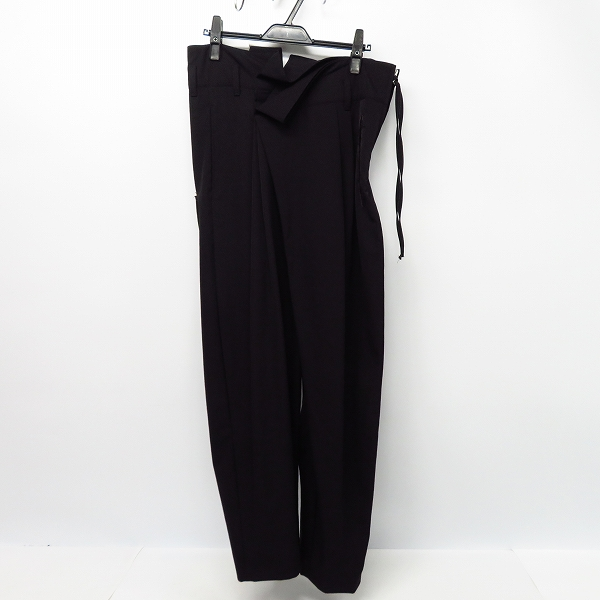実際に弊社で買取させて頂いたBED J.W. FORD/ベッドフォード 18SS Wrapped Trousers/ラップ トラウザーパンツ 18SS-B-PT07/1