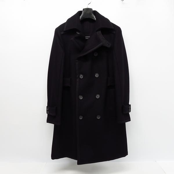 giuliano Fujiwara/ジュリアーノ フジワラ カシミヤ混 ウールロングコート Size:44