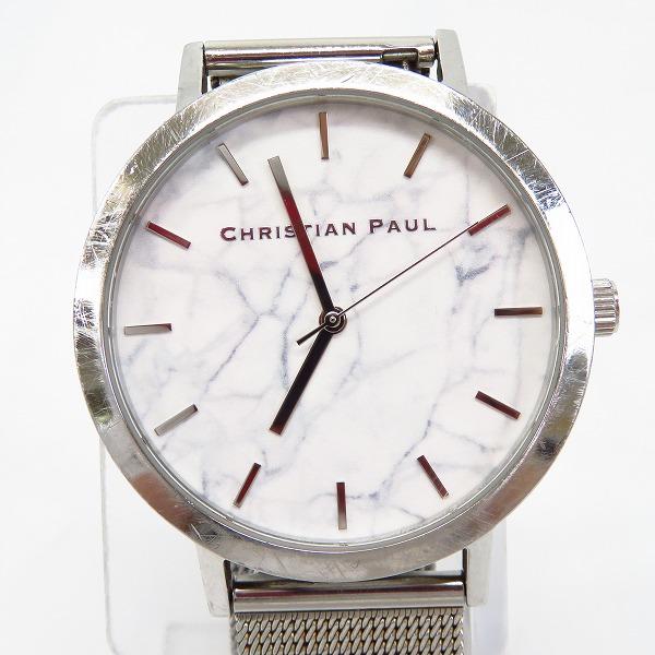 実際に弊社で買取させて頂いたChristian Paul/クリスチャンポール 大理石調文字盤 腕時計/CP1216-01972