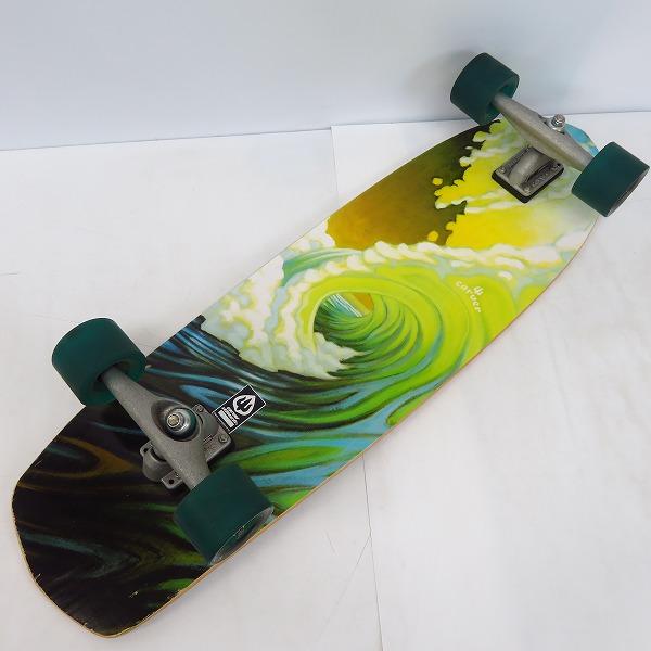 実際に弊社で買取させて頂いたCARVER SKATEBOARDS/カーバー Greenroom サーフ/スケートボード