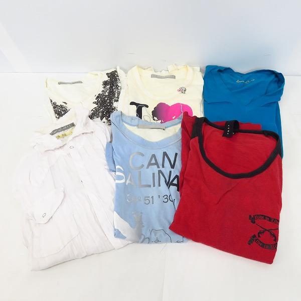 フランシストモークス/ロアー/ドレスキャンプ 半袖/長袖 カットソー/Tシャツ/ロンT/シャツ 6点セット