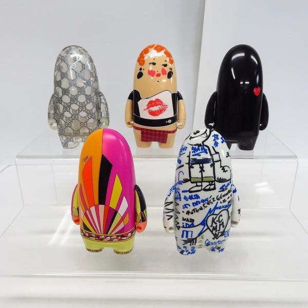 kidrobot/キッドロボット社製 VISIONAIRE/ヴィジョネア 45:more toys デザイナーズトイ/フィギュア イエローセット