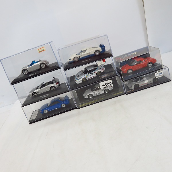 【未使用含む】MINICHAMPS/ミニチャンプス 他 1/43 T2M ポルシェ 911 GT3Cup 等 ミニカー 8点セット