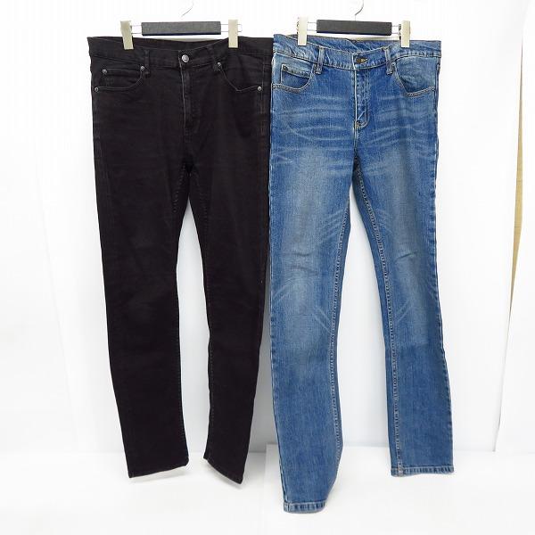 CHEAP MONDAY/チープマンデー Tight New Black/Tight dark clean wash スキニーデニムパンツ W33/34 2点セット