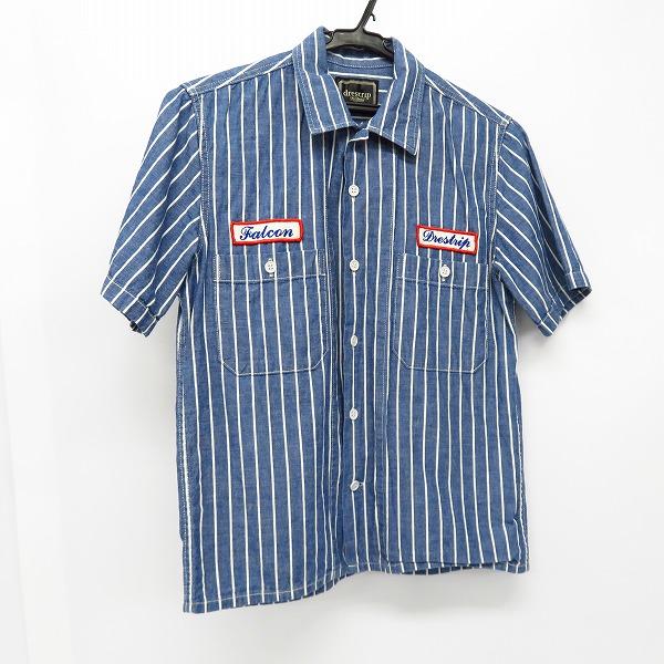 実際に弊社で買取させて頂いたdrestrip/ドレストリップ ストライプ柄半袖シャツ 胸ワッペン