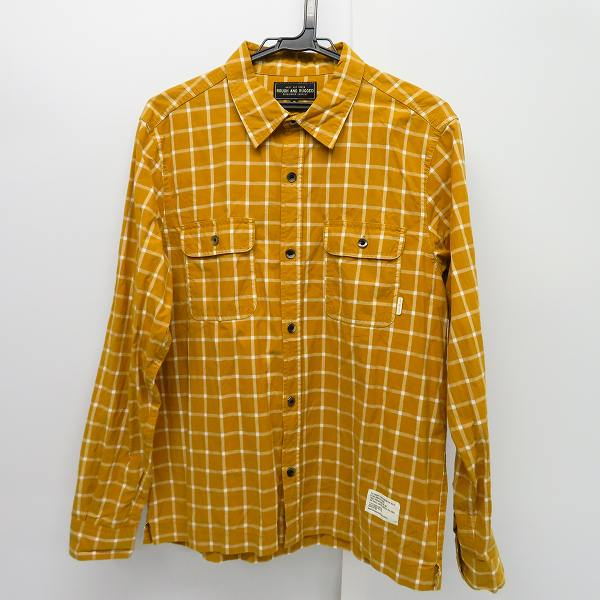 ROUGH AND RUGGED/ラフ アンド ラゲット チェック柄 長袖チェックシャツ/3