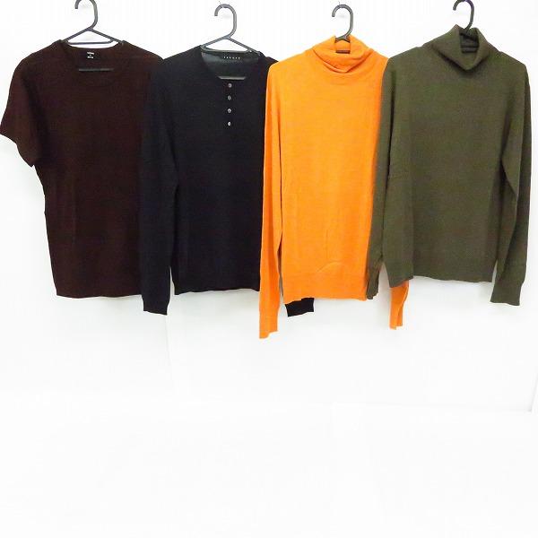 CABANE DE ZUCCa/カバンドズッカ theory/セオリー タートルネック/ボタン付きニット/Tシャツ 4点セット