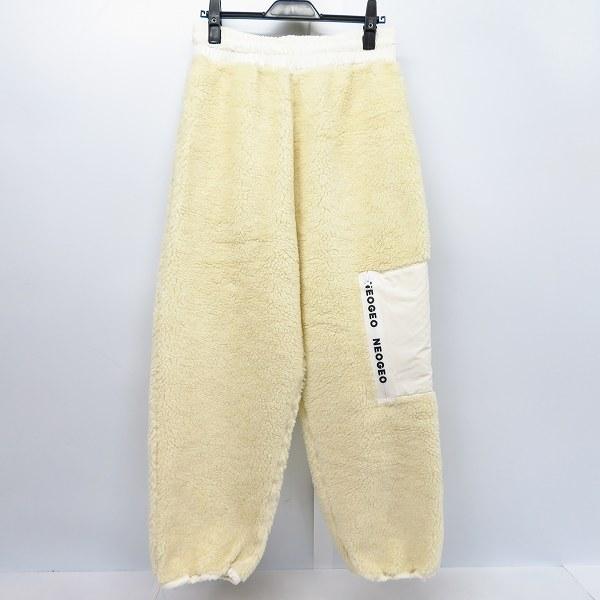 実際に弊社で買取させて頂いたDISCOVERED/ディスカバード Boa fleece pants/ボア フリースパンツ DC-AW18-PT-06/3