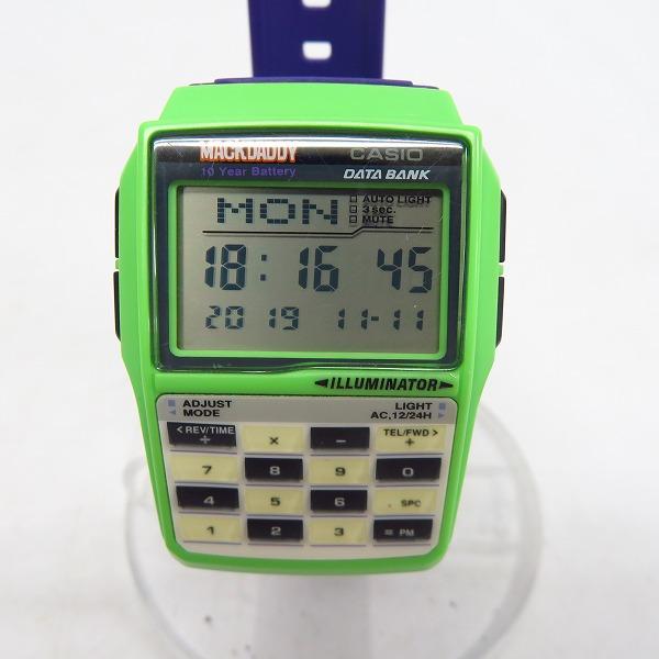 実際に弊社で買取させて頂いたCASIO/カシオ 腕時計 DATA BANK/データバンク マックダディ DBC-32CM