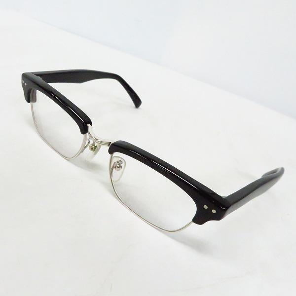 金子眼鏡/カネコガンキョウ 恒眸作 サーモント型 度入り/眼鏡/メガネフレーム T254