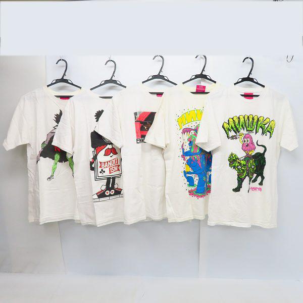 実際に弊社で買取させて頂いたMISHKA/ミシカ プリント ハーフスリーブ/半袖 カットソー/Tシャツ 5点セット