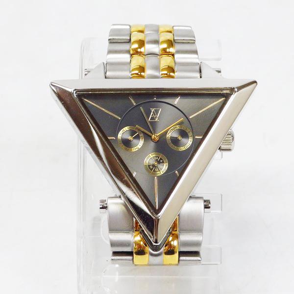 実際に弊社で買取させて頂いたALIVE ATHLETICS/アライヴ アスレティックス A-FRAME METAL 2-Tone 腕時計【動作未確認】