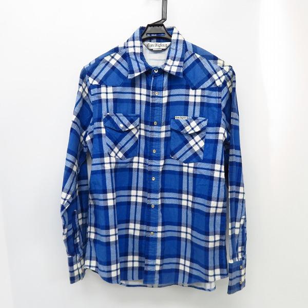 CORE FIGHTER/コアファイター チェックシャツ/L