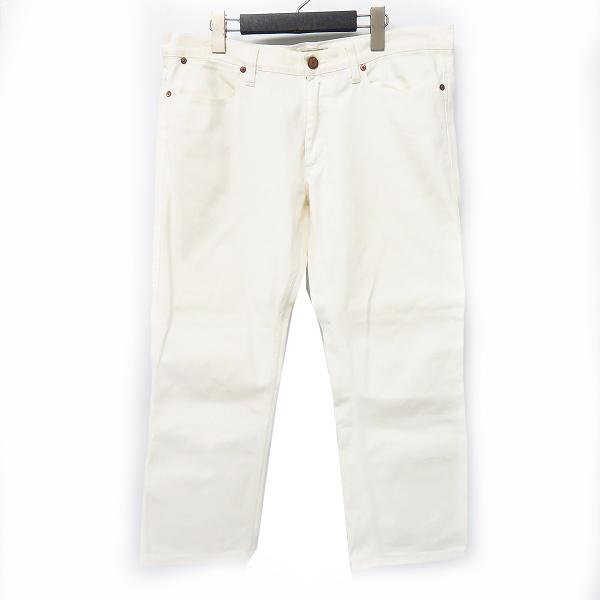 実際に弊社で買取させて頂いたAcne jeans/アクネジーンズ ストレッチ コットンパンツ ホワイト/白 34/32