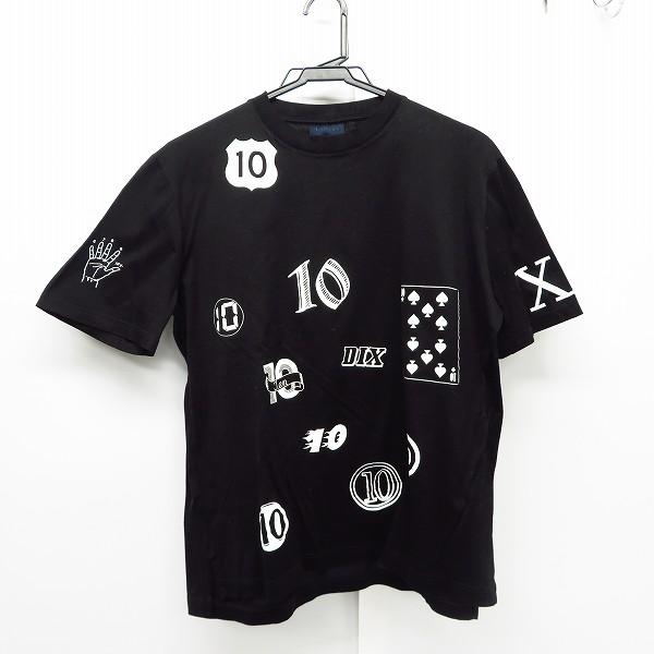 実際に弊社で買取させて頂いたLANVIN/ランバン プリントロゴ Tシャツ/カットソー/XS