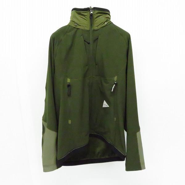 実際に弊社で買取させて頂いたand wander/アンド ワンダー backside shaggy ジャケット AW93-FT025/3