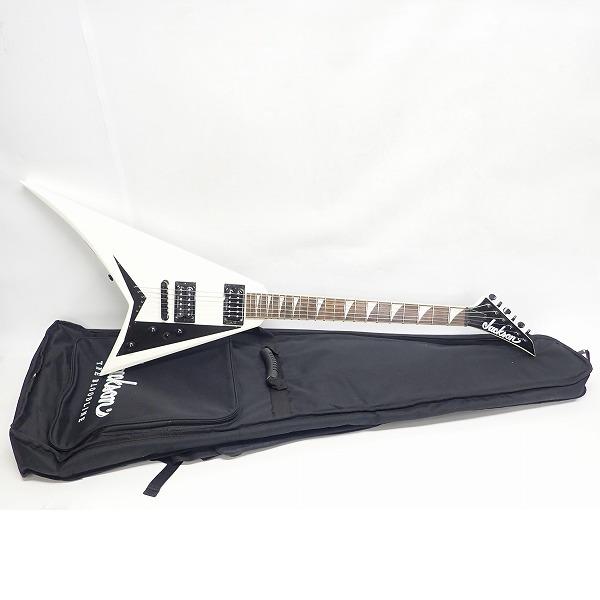 実際に弊社で買取させて頂いた★Jackson/ジャクソン X series RRXT  Snow White エレキギター ソフトケース付き