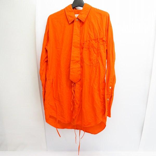実際に弊社で買取させて頂いたBED j.w.FORD/ベッドフォード 18AW Ribbon shirt/リボンシャツ 1