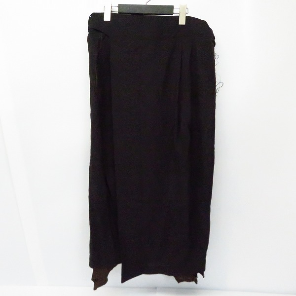 実際に弊社で買取させて頂いたBED j.w.FORD/ベッドフォード  スカートパンツ ブラック 1
