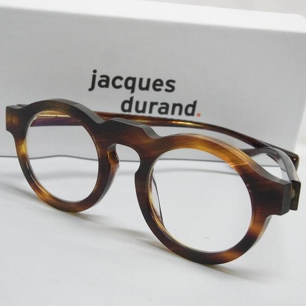 実際に弊社で買取させて頂いたJacques Durand/ジャックデュラン 丸メガネ/眼鏡フレーム デミ柄 PAQUES L 506-013