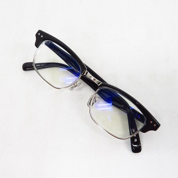 実際に弊社で買取させて頂いた金子眼鏡/カネコガンキョウ 恒眸作 メガネフレーム/度入り T254