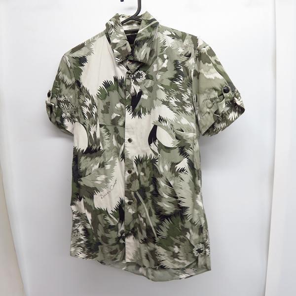実際に弊社で買取させて頂いたDRESS CAMP/ドレスキャンプ 総柄 半袖シャツ/46