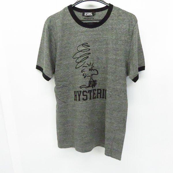 実際に弊社で買取させて頂いたHYSTERIC GLAMOUR×THEATER8×PEANUTS/ヒステリックグラマー×シアターエイト×ピーナッツ プリント 半袖Tシャツ/L
