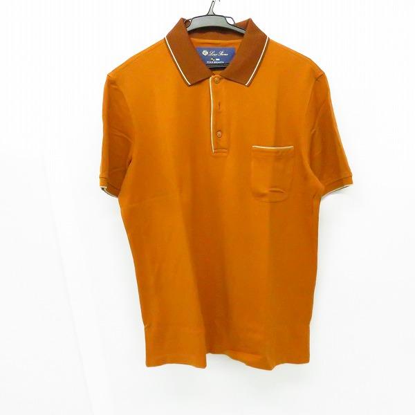 実際に弊社で買取させて頂いたLoro Piana/ロロピアーナ 半袖ポロシャツ イタリア製/M