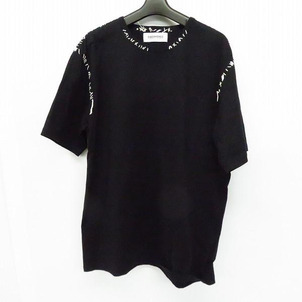 実際に弊社で買取させて頂いたDISCOVERED/ディスカバード 19SS stitch tee shirt/ステッチ半袖Tシャツ DC-SS19-CU-08/1