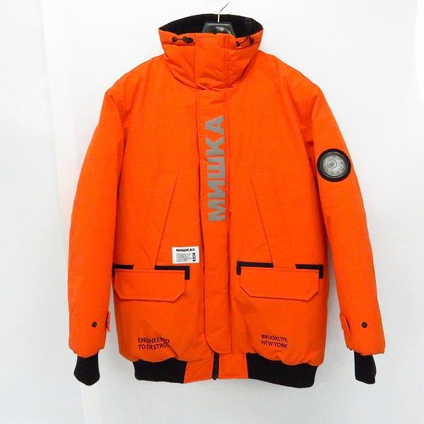 実際に弊社で買取させて頂いたMISHKA/ミシカ ASTROMAN JACKET 中綿ジャケット リフレクターロゴ L