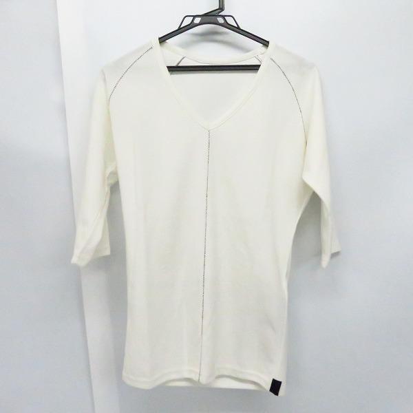 実際に弊社で買取させて頂いたKiryuyrik/キリュウキリュウ Half Sleeve T-Shirts/カットソー/ホワイト/KV-HT16-058/S