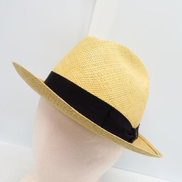 実際に弊社で買取させて頂いたBorsalino/ボルサリーノ PAGLIA ストローハット 帽子/58